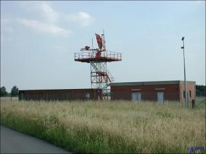 old radar antenna