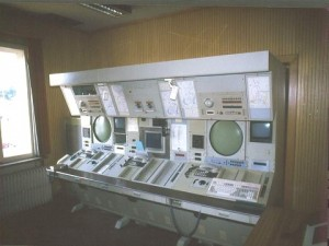 old radar room